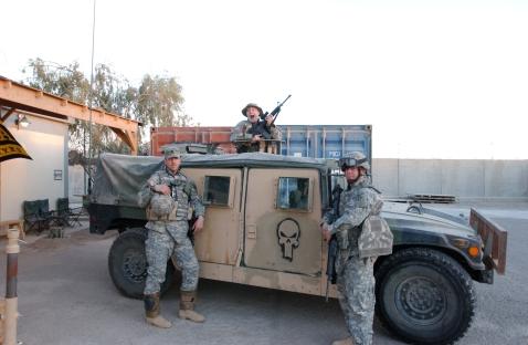 IEDs? I laugh at IEDs. Cloth-top Humvee, son!