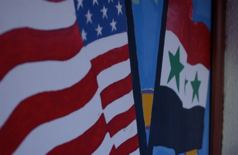 Awww, flag friends.