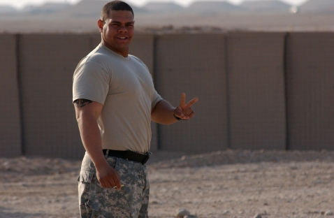 Dude can carry a Humvee.